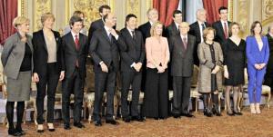 Tutti i ministri del Governo Renzi