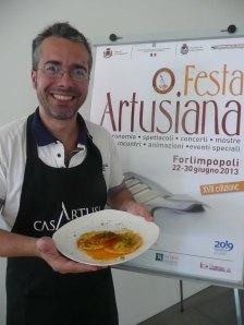 Rolando Repossi, vincitore del premio Marietta 2013