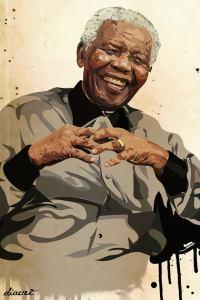 Diavù, Madiba, mixed media on wood, (Courtesy Mondopop.it)