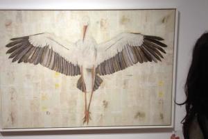 La cicogna crocifissa di Luca Viapiana