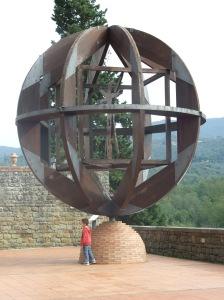 La scultura dell'Uomo Vitruviano