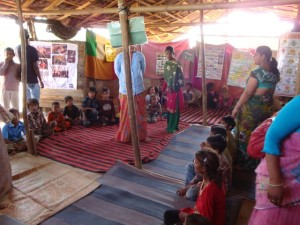 Una scuola in India