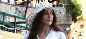 Monica Bellucci, nel ruolo della fata etrusca