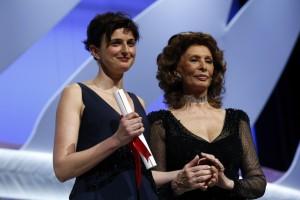 Sofia Loren premia Alice Rohwacher
