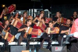 L'orchestra della Notte della Taranta