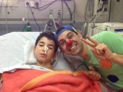Il Pimpa in ospedale