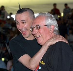 Il mago sales e Arturo Brachetti