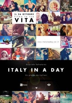 """La locandina di """"Italy in a day"""""""