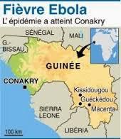 ebola mappa