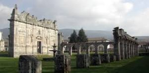 La facciata ciquecentesca del monastero di Serra San Bruno