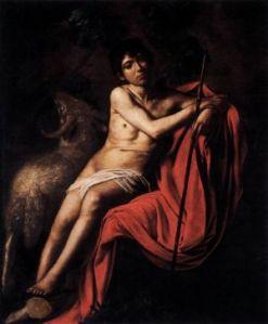 Il San Giovanni in esposizione alla Galleria Borghese