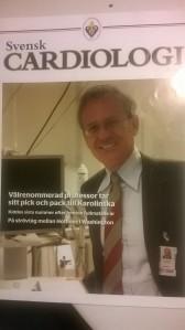 La prima pagina di copertina dedicata al professore Cosentino