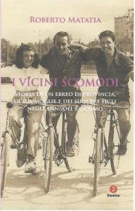 "La copertina del libro ""I vicini scomodi"" di Roberto Matatia"