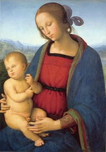 La Madonna con bambino di Il Perugino