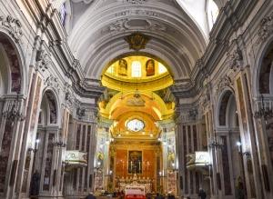 L'interno della Chiesa dell'Immacolata