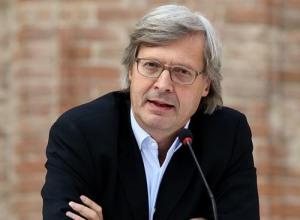Il critico d'arte Vittorio Sgarbi