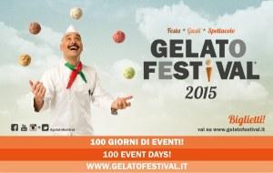 La locandina del Gelato Festival