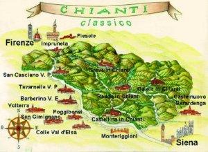 L'area del Chianti