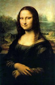 Il dipinto della Gioconda esposto al Louvre