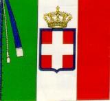 La bandiera tricolore del periodo risorgimentale
